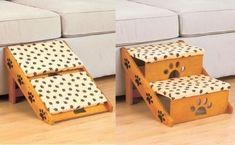 STEPS PET ADJUSTABLE STAIRS OR RAMP TO BED COUCH CAR FOR DOG CAT