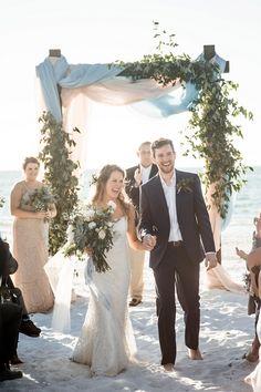 Beach Wedding Photos Cassie and Sebastian's Casual Boho Beach Wedding in Florida by Katelyn Prisco Photography Beach Wedding Attire, Boho Beach Wedding, Beach Wedding Photos, Destination Wedding, Wedding Dresses, Beach Weddings, Beach Elopement, Forest Wedding, Beach Photos
