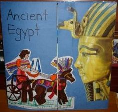 Ancient Egypt- a plethora of ideas for lapbooking and unit study on ancient egypt.