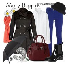 """Mary Poppins"" by leslieakay ❤ liked on Polyvore featuring M Missoni, Uniqlo, MaxMara, City Chic, Bling Jewelry, Jeffrey Campbell, disney and disneybound"
