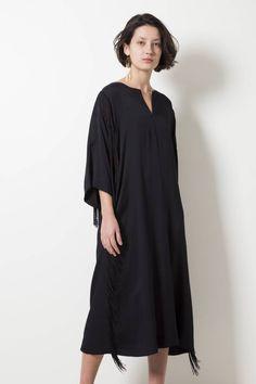 A'JOURNEY hadid dress frills - wendela van dijk