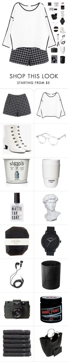 """""""♡ you took my imagination and stomped it into the ground"""" by nervous-touch ❤ liked on Polyvore featuring Chicnova Fashion, Theyskens' Theory, Spitfire, ROOM COPENHAGEN, Eichholtz, Pelle, Nixon, DEOS, NARS Cosmetics and Holga"""