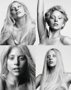 lady gaga bare