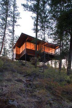 Maison en bois / Cabin - Andersson Wise Architects -