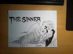 2nd CD cover for the sinner