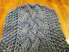 Ravelry: Gentleman's Scarf pattern by The Sheepwalk Fiber Arts Studio