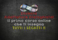 Corso per diventare #AdattatoreDialoghista online!! Il primo in Italia. http://rivettiwalter.com/corso-adattamento-dialoghi/