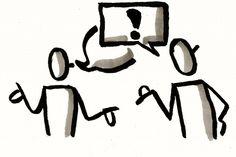 Visualisierung für #Kommunikationsprobleme