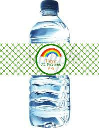INSTANT Download St PATRICKS Day Water by LemonSqueezeDesigns, $2.99