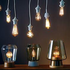 Calex Ampoule Déco E27 Incandescente à Filaments