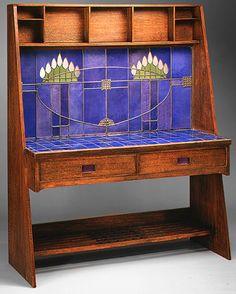 Charles Rennie Mackintosh (1868-1928) - Washstand. Circa 1905.