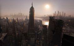 Post Apocalyptic New York - Future, New York, Manhattan, City, New York City, Usa, Apocalypse, Post Apocalyptic, Future City, Post Apocalypse