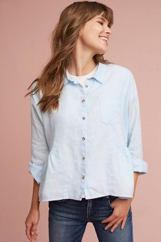 Slide View: 1: Mckenzie Linen Shirt