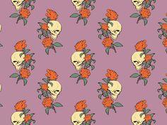 """Tattoo"" by Phalaenopsis roses, skulls, tatto"