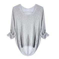 Urparcel Women Long Sleeve Pullover Casual Jumper Grey Urparcel http://www.amazon.com/dp/B013SUHH9K/ref=cm_sw_r_pi_dp_Gl8lwb1MZMA8H