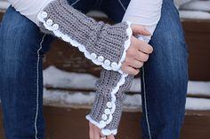 Vintage-Inspired Arm warmers ~ free pattern