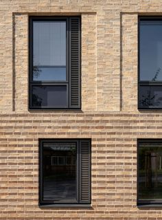 Window Design, Styles, And Inspiration – Voyage Afield Architecture Building Design, Concrete Architecture, Building Facade, Brick Design, Facade Design, Brick Detail, Facade Pattern, Architectural Section, Brick Patterns