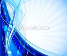 Abstract background in blue vector by vanias - Stock Vector
