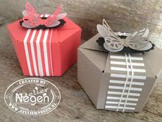 Stampin' Up! - Gift Bag Punch Board - Created by Atelier Negen - www.laulijn.nl