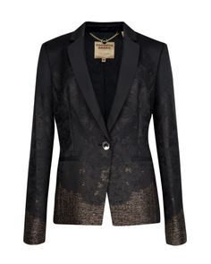Jacquard suit jacket - Black | Suits | Ted Baker Yeah, this is an AMAZING blazer. Holy cow.