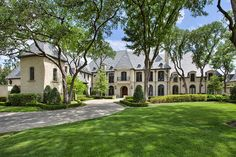 French Chateau in Dallas, Texas - 12,000 sq. ft. of luxury