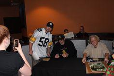 Pittsburgh Sports Autographed Memorabilia and Gear Pittsburgh Steelers Logo, Pittsburgh Sports, Heath Miller, Joe Haden, Jack Lambert, New England Patriots, Penguins, Athlete, Public