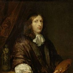 Self-Portrait, Caspar Netscher, 1660 - 1684 - Rijksmuseum