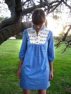 Next up on the project list: Wiksten Tova. I got the pattern and am ready to go. (Photo is by wikstenmade on flickr)