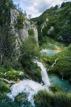Plitvice Lakes National Park, Croatia    #Croatia #waterfall #wonderland #InnerLightLeaks #Plitvice