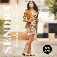 Visit our official Facebook page and discover the new #spring / #summer collection #sendra #sendraboots #highquality #handmadeboots #madeinspain #loveboots #fashionboots #fashion #design #trend #look #streetstyle #style #outfit #ootd #outfitoftheday #bestoftheday #photooftheday #picoftheday #girl #woman #love