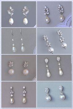 Collier Pearl Backdrop, Swarovski Pearl Bridal Back Necklace, Argent, Or Rose, Or Bridal Backdrop Necklace, Bridal Necklace, Wedding Earrings, Bridal Bracelet, Bridal Jewelry, Pearl Wedding Jewelry, Gold Jewelry, Back Necklace, Pearl Necklace