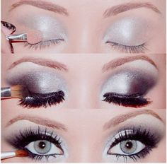 3 Step Silver Eyeshadow...