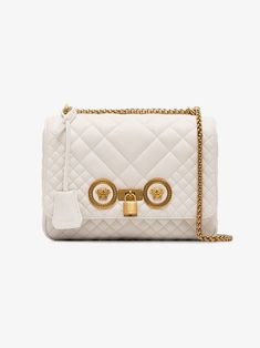 d2639373d2 VERSACE Medium Quilted Icon SHoulder Bag ⭐ 💓😍  bags  bag  style