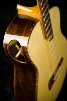 Acoustic guitar front soundhole - Tom Bills Genesis G2s Acoustic Guitar