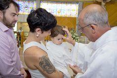 Batizado, criança, família, mãe de menina, pai de menina