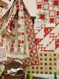 french general/Moda | rouenneries deux quilt market fall 201… | ImAGingerMonkey | Flickr
