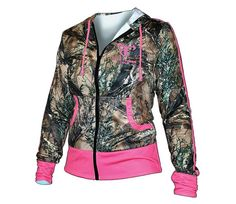True Timber Women's Performance Hoodie - This stylish camo hoodie gives ladies a reason to show off their love for the outdoors. Country Girls Outfits, Country Girl Style, Country Fashion, My Style, Southern Style, Camo Hunting Jacket, Hunting Jackets, Hunting Clothes, Camo Hoodie