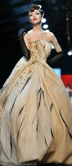 # Christian Dior Haute Couture   S/S 2011    The House of Beccaria