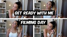 Chatty Get Ready With Me!! - Super Simple Filming Makeup!