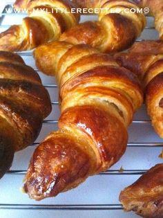 CAP pâtissier : LES croissants maison en pâte levée feuilletée