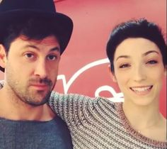 Maks and Meryl in the early days of DWTS season 18