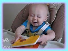 Baby Micah loves his dad's corny jokes! More @ CutiesNFuzzies.com