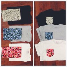 i totally want to do this to my plain shirts!