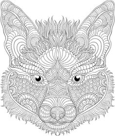 Adult Coloring Book Stress Relieving Animal Designs Best Of Animal the Animal Coloring Book 50 Cool Design Abstract Coloring Pages, Pattern Coloring Pages, Colouring Pages, Coloring Books, Coloring Sheets, Free Adult Coloring, Dog Coloring Page, Animal Coloring Pages, Mandalas Drawing