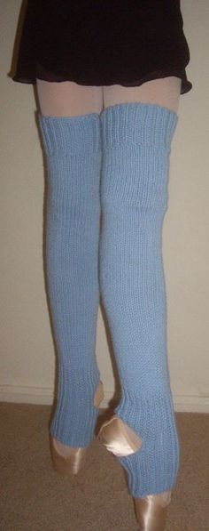 How To Knit Leg Warmers For Ballet Dancers Free Pattern