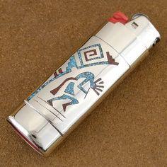 Kokopelli Bic Lighter Case