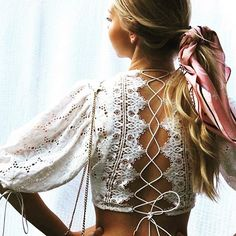 Love this top!!! ❤️❤️ #top #fashion #fashionista #fashionblogger #love #white #lace #laceup #laceupshirt #pretty #style #womensfashion ❤️❤️