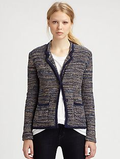 Marc by Marc Jacobs Suze Sweater Jacket    Love the whole outfit