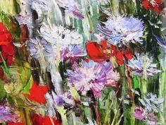 'Cottage Garden' by Gleb Goloubetski Oil on Canvas 59.5cm x 49.5cm