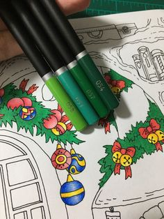 Colouring Techniques, Colour Combinations, Christmas Colors, Adulting, Colored Pencils, Art Supplies, Coloring Pages, Castle, Products